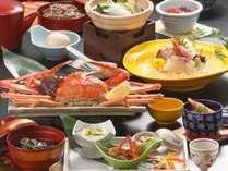 ずわい蟹×和牛!お正月休みを少しずらしてゆったりと◆ちょっと贅沢な会席膳