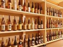 館主が全国から厳選したお酒が90分楽しめます!※画像はイメージです。
