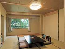 新緑が美しい和室8畳