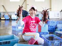 【市場見学】季節により美味しい魚介類が水揚げされます♪新鮮な海の幸をご提供!