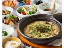 【朝食】天草大王 鶏雑炊