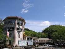 自然の中に佇む美又温泉保養センター