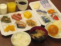 【無料】のご朝食は和洋のバイキングにリニューアルしました♪