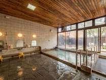 *【大浴場】飲料可能ですので体の中からも外からも湯量豊富な天然温泉をご堪能いただけます。