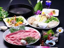 【松・すき焼き】近江牛の一番オーソドックスな食べ方♪