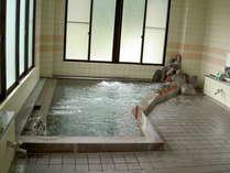 内湯昼神温泉のお湯をお楽しみください。