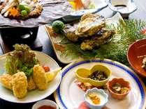 ■岩牡蠣コース(一例)■広島ならでは!牡蠣尽くしのコースをお愉しみ下さい♪