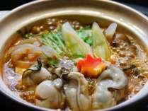 【おすすめ料理『宮島カキのひとり鍋』】カキ料理は冬季限定!3月末まで1200*