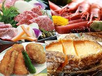 とろける食感♪ブランド松阪牛すき焼き&あわび、ふぐの海鮮会席