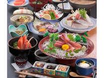 日本海鮮魚を使った「日本海会席」