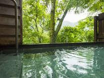 みなかみの自然の風を感じながら露天風呂でゆっくりとお寛ぎください。