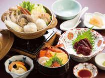 モヨロ鍋と海鮮丼