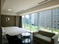 デラックスツインルーム(約40平米/ベッド幅120cm)