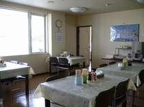 食堂:朝食、夕食はこちらをご利用頂きます。