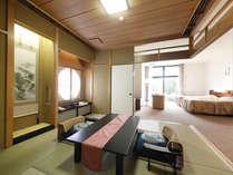 特別室 和室とベッドルーム【写真はお部屋タイプの一例です】
