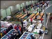 【室数限定】◆4月3日(日)沼津魚市場セリ見学プラン◆ ※宿泊は4月2日(土)
