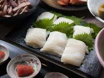 朝食ブッフェ ~函館名物「イカ」~ 函館産「イカ刺し」は毎日ご用意しております!