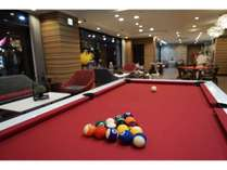 Billiards (snooker: pool table) You can use until 22 o'clock in the evening.