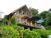 ひむかの郷自然に囲まれた一軒宿。