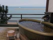 【基本プラン】源泉かけ流しの露天風呂付き客室に宿泊夕食は『砂むし会席』