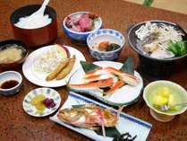 【2食付】日本海と美しい夕日が目の前!温泉と海の幸を満喫するスタンダードプラン