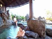【庭園露天風呂】 ※季節感じる風が心地良い露天風呂