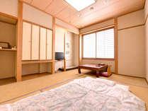 *お任せ和室6畳(客室一例)/一人旅やビジネスに◎お布団は既に敷いてある為、ご到着後ごろんとできます!