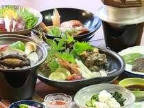 季節の美味しい魚を選んだ少しだけ贅沢な会席料理です。