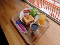 ご好評いただいている朝食メニューです