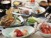 日本海☆新鮮魚介堪能プラン☆夕食は全11品