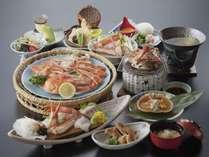 【12月の月曜日限定】2,160円引き!☆蟹のフルコース☆蟹好きにはたまらない!蟹づくし御膳♪
