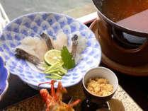 ■当館イチオシ■旬を楽しむ♪今が美味しい!!鱧(ハモ)と鯛の会席<1泊2食付き@15,000円~>