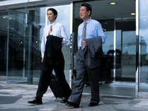【ビジネス】各地へのアクセス良好!復興応援やビジネスの拠点に<1泊2食>