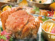 【冬の味覚・毛ガニ好きにはたまらない♪1人1杯茹で毛蟹を食べれる】12月15日~2月28日まで限定プラン
