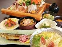 新鮮な魚介類を贅沢に食べる♪旅篭膳