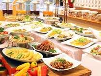 【人気プラン】ディナービュッフェプラン・豊富なメニューが食べ放題