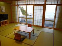 ■客室:全室オーシャンビュー、相模湾を一望