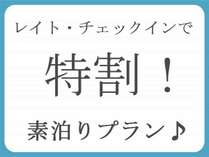 レイト・チェックイン 素泊りプラン ※オンラインカード決済専用