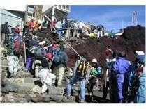 【富士登山】麓で楽々♪前泊・後泊♪荷物預かります!