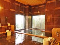 当ホテル1番の自慢の人工ラジウム温泉です♪1日の疲れをゆっくり癒してください♪