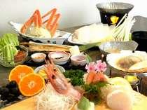 通常プラン夕食(イメージ)季節により料理の内容が異なります。
