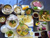 焼き松茸&ヒレステーキがメインのボリュームたっぷり会席コース!