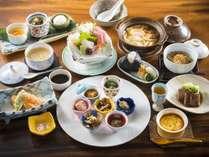 【基本会席】食事場所おまかせ★お値打ち★富山湾の幸と山の恵みを楽しむスタンダードプラン