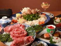 【秋の味覚祭】かずさ和牛すき焼き&松茸土瓶蒸しプラン