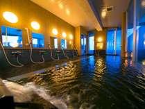 パノラマ展望風呂~たっぷりのお湯に浸かって、一日の疲れを洗い流そう!~