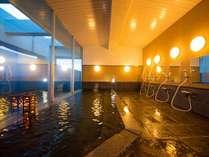 ◆ホテル最上階のパノラマ展望風呂◆~朝日や夜景を見ながら、手足を伸ばして至福の時間を~