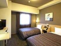 ビズコートツインルーム 17.7平米 ベッドサイズ110×190