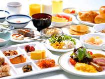 朝食バイキング(盛付例)