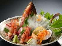 竹野近海で水揚げされた地魚の盛り合わせ★花咲く蟹刺しは甘くてとろけます★3~4名様盛りイメージです