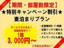 3000円~プラン